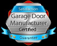 certified garage door repair and installation